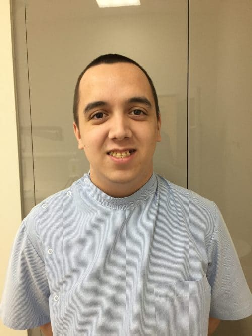 New dental assistant