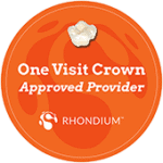 One visit crowns