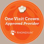 One visit crowns