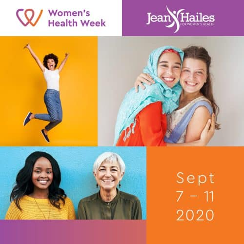 Women's Health Week 7-11 September