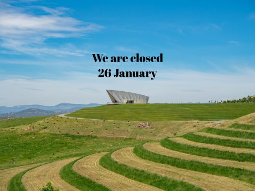 Closed on Tuesday 26 January