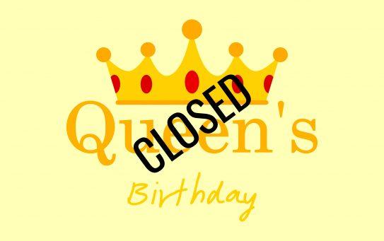 Queen's birthday long weekend 2021